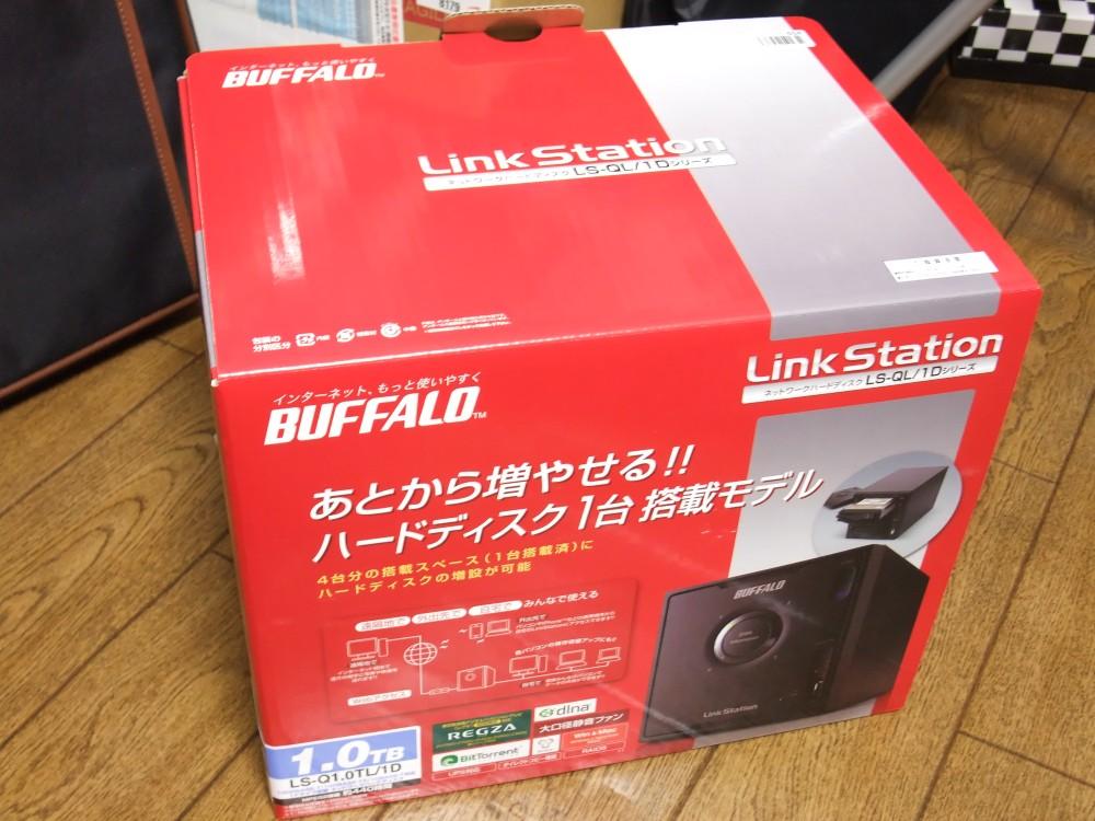 BUFFALO 〈リンクステーション〉 RAID5/ Webアクセス機能搭載 DLNA対応 ネットワーク対応HDD LS-Q1.0TL/1D