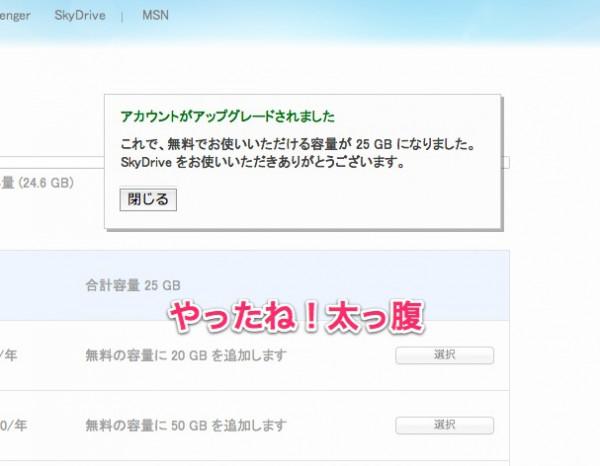 容量の管理 - Windows Live-2
